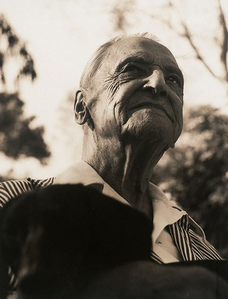 An image of Somerset Maugham, San Tropez, France by Lewis Morley