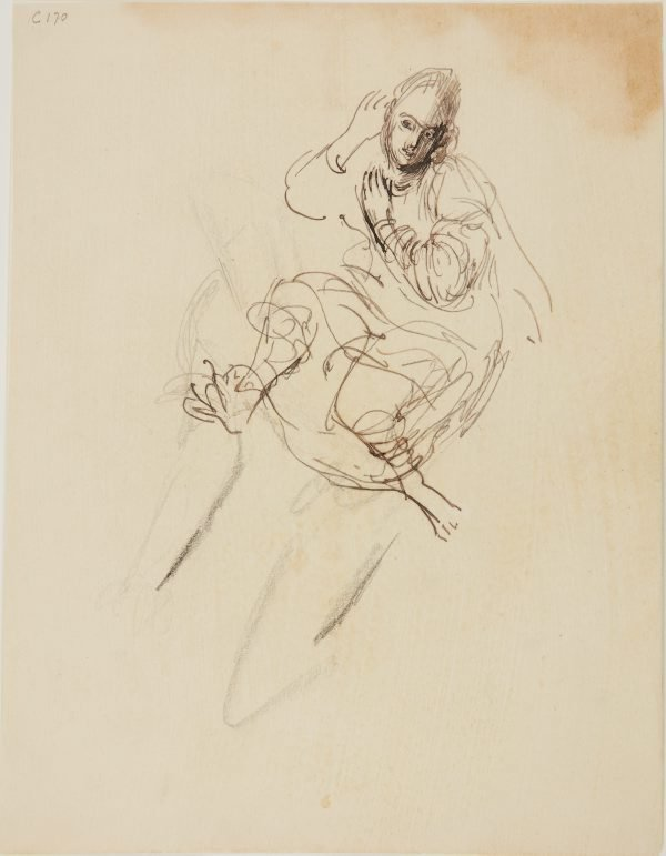 An image of (Figure study) (Early Sydney period)