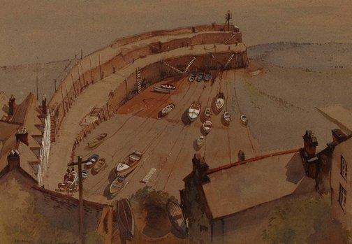 An image of Clovelly by John Goodchild