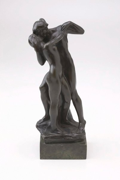 An image of The kiss by Charles Vyse