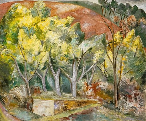 An image of Mimosa Wood by Paul Nash