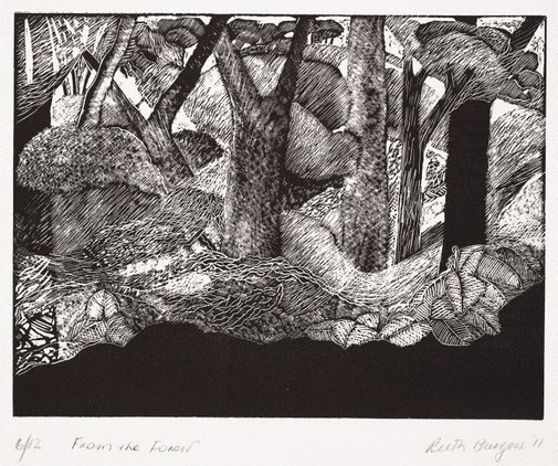 An image of From the forest by Ruth Burgess
