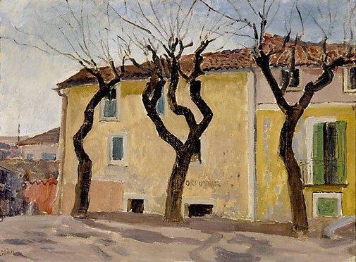 An image of Corner, Vielle, France by Augustus John OM
