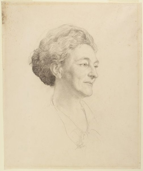 An image of Mrs James Crockett by George W Lambert