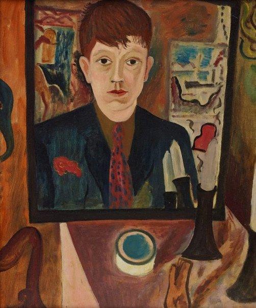 An image of Self-portrait by David Jones