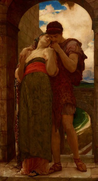An image of Wedded by Lord Frederic Leighton