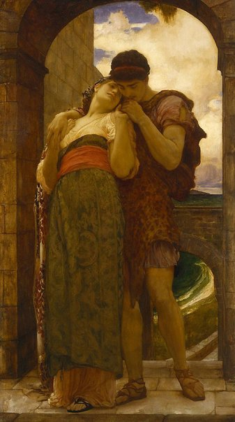 An image of Wedded by Frederic, Lord Leighton