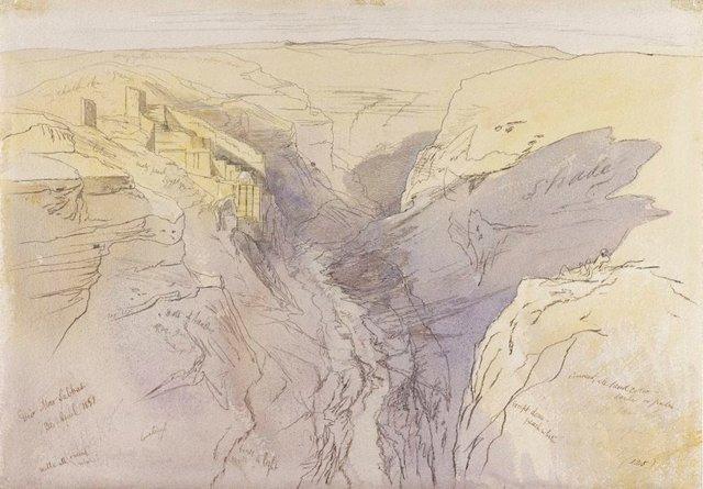An image of Deir mar sabbas
