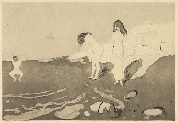 An image of Bathing women