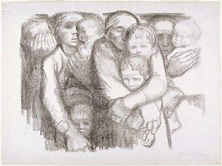 AGNSW collection Käthe Kollwitz The mothers 1919