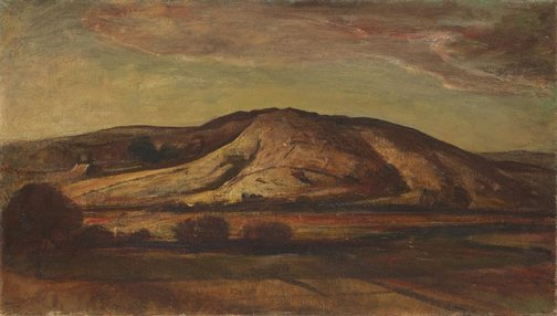 An image of Evening landscape, Gerringong by Lloyd Rees