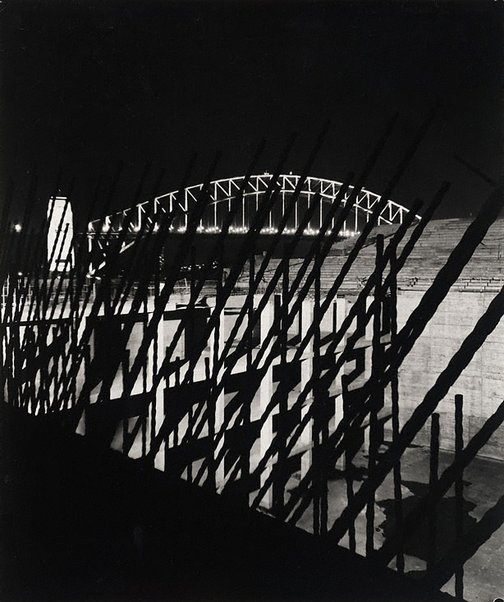 An image of Towards end of stage I (Sydney Opera House) by Max Dupain