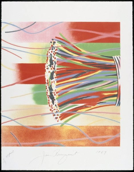 An image of Area code (right half of diptych) by James Rosenquist