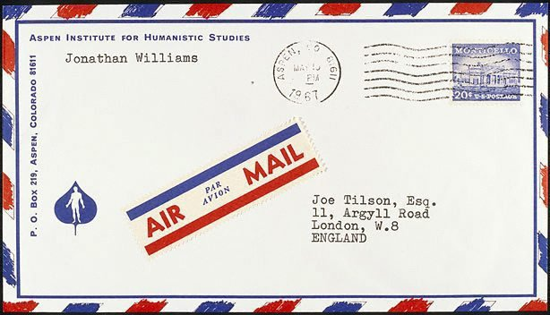 An image of L - Letter from Jonathan Williams