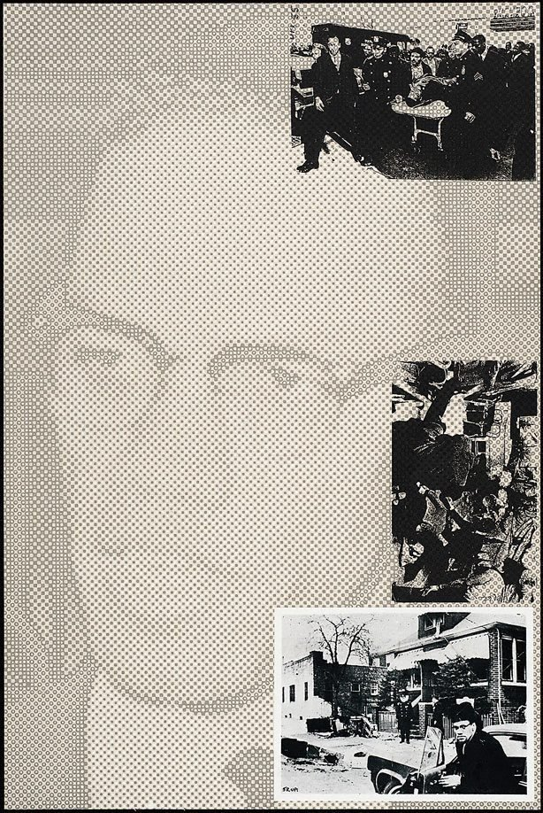 An image of X - Malcolm X
