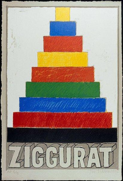 An image of Z - Ziggurat by Joe Tilson
