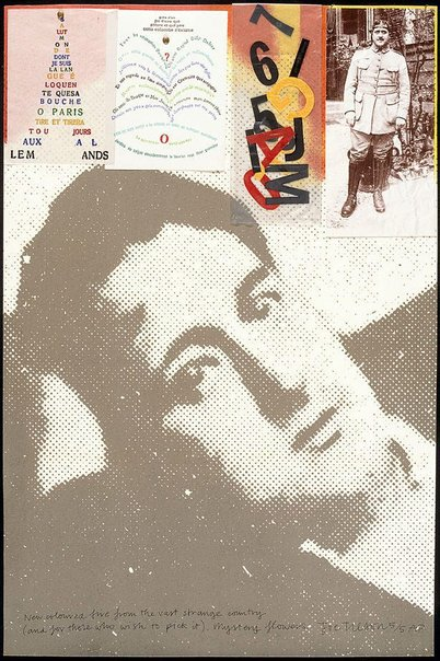An image of G - Guillaume Apollinaire by Joe Tilson