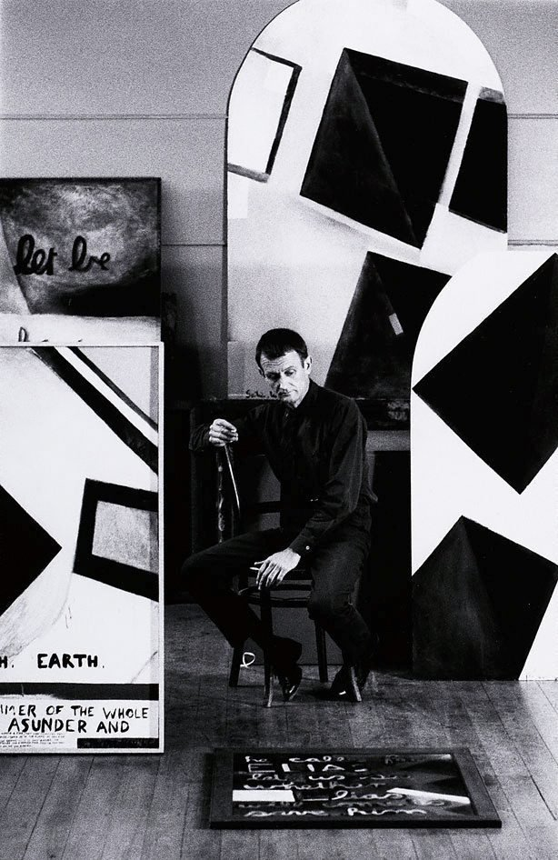 An image of Colin McCahon, Auckland, New Zealand