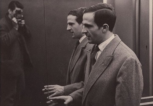 An image of François Truffaut, London by Lewis Morley