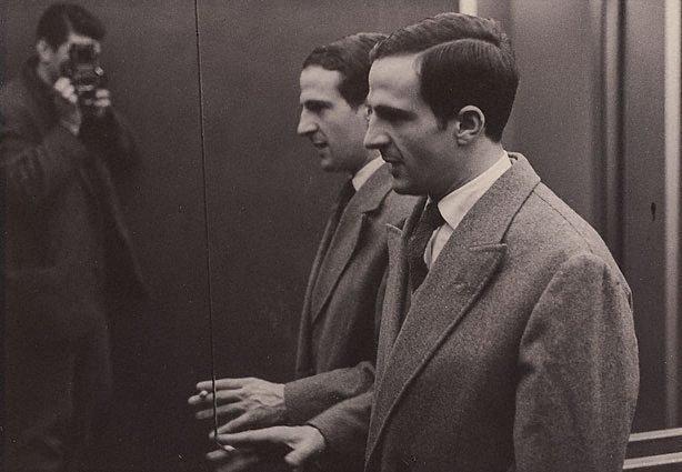 An image of François Truffaut, London