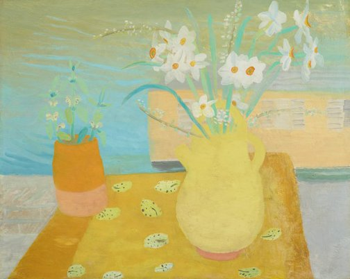 An image of Kate's flowers by Winifred Nicholson