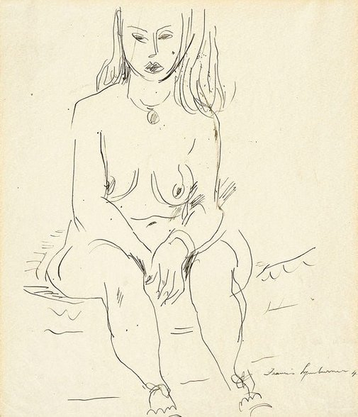 An image of Nude by Francis Lymburner