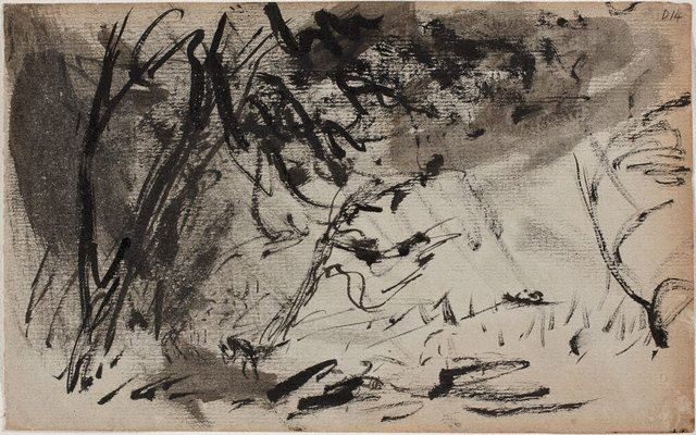 An image of (Landscape) (Sketches from Wangi and Lake Macquarie)