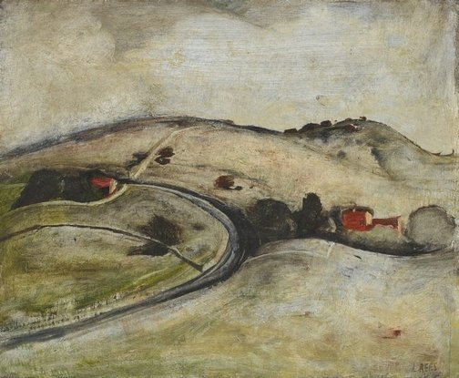 An image of The road to Berry by Lloyd Rees