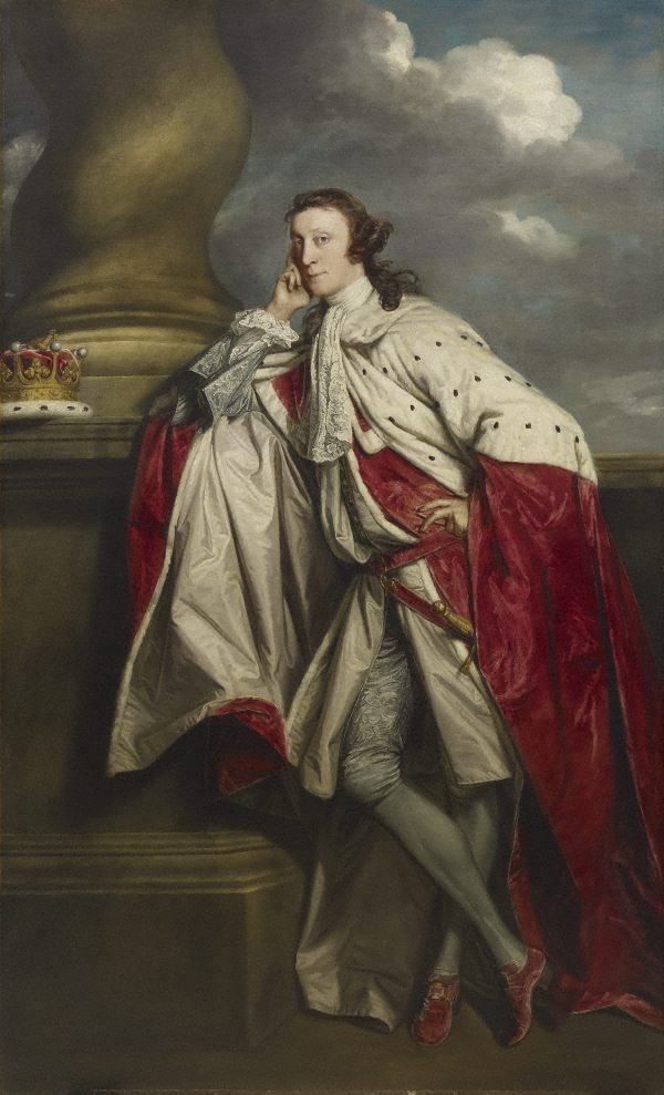 James Maitland, 7th Earl of Lauderdale, (1759-1760) by Sir Joshua Reynolds