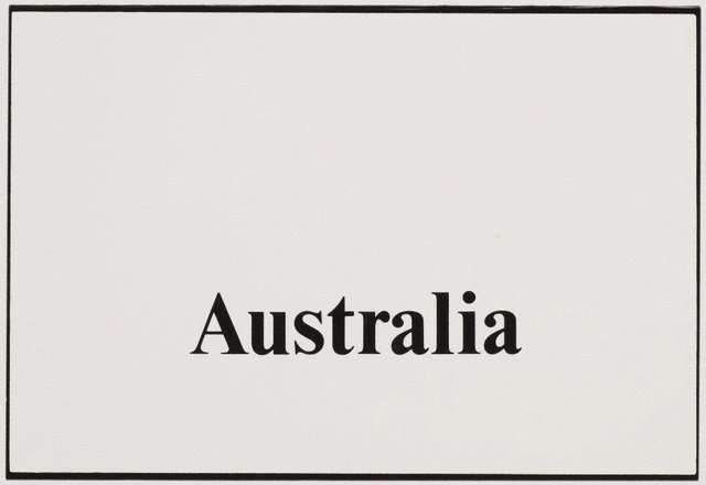 An image of Australia