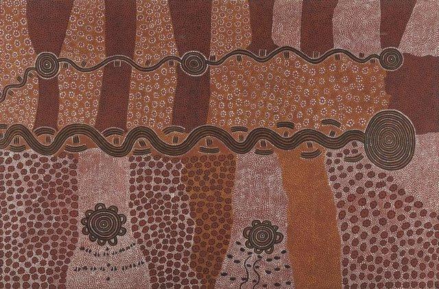 An image of Travels of the snake Larru Larru
