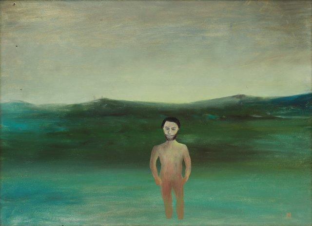 Island, (1947) by Sidney Nolan