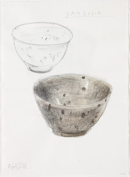 An image of Untitled (Rengetsu's tea bowl) by Kevin Lincoln