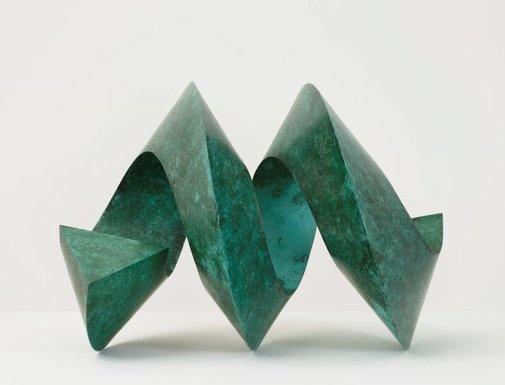 An image of Double spiral by Herbert Flugelman