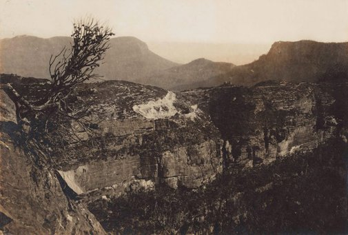 An image of Untitled (mountain range) by Norman C Deck