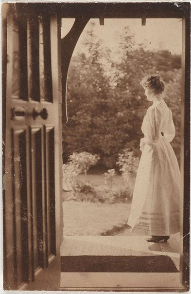 An image of Joan at Witty Combe by Norman C Deck