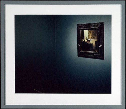 An image of National Gallery 2 (Vermeer), London by Thomas Struth