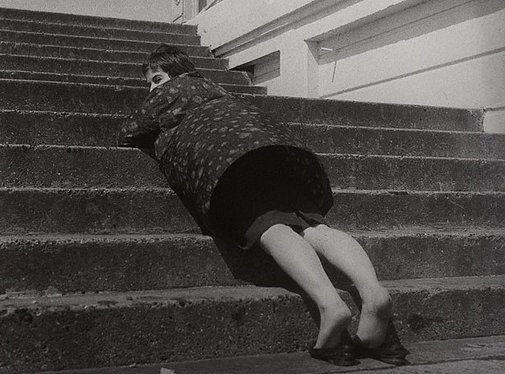 An image of Mrs Jonathan Miller, Brighton, England by Lewis Morley