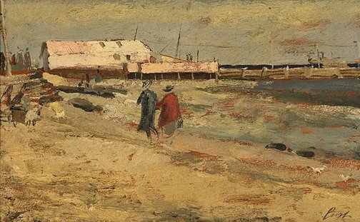 An image of Williamstown Beach by Charles Bush