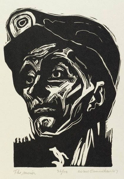 An image of The miner by Noel Counihan