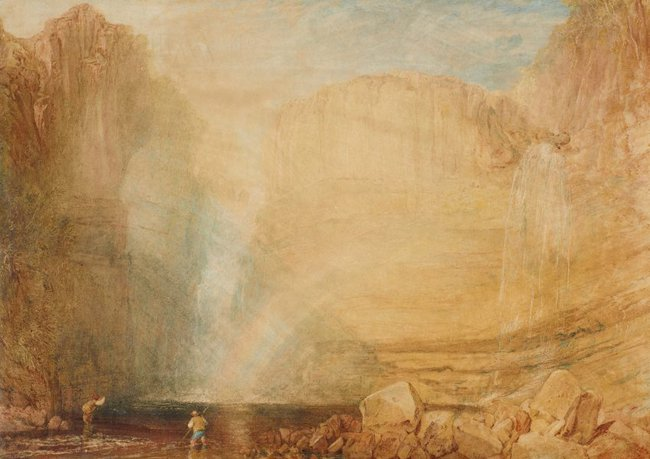 AGNSW collection Joseph Mallord William Turner High force, Fall of the Tees, Yorkshire (1816) 8030