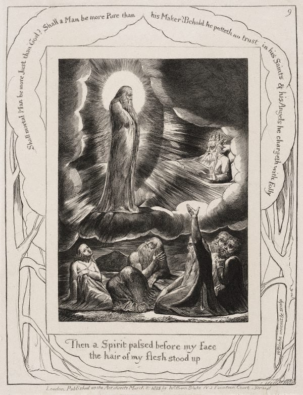 An image of The vision of Eliphaz