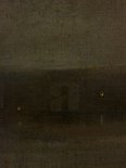 Alternate image of Nocturne in grey and silver, the Thames by attrib. James Abbott McNeill Whistler