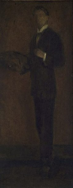 An image of L'Homme à la palette by Walter Richard Sickert