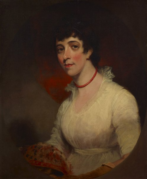 An image of Mrs Paterson (wife of Colonel Paterson) by William Owen