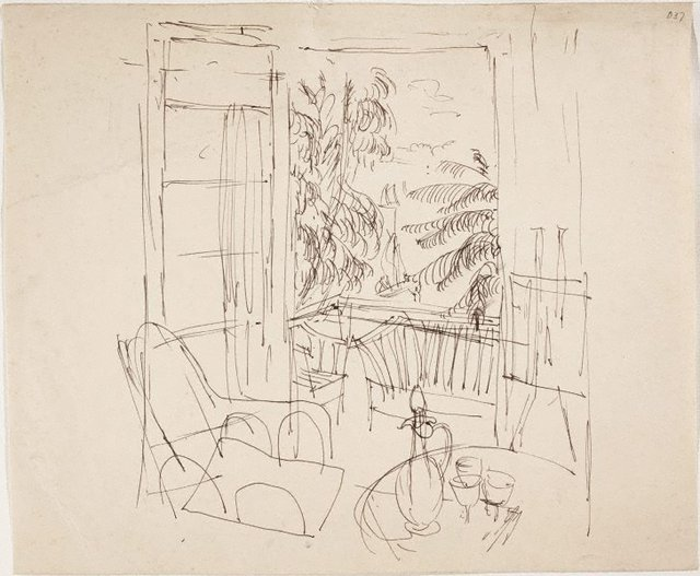 An image of (Interior) (Sketches from Wangi and Lake Macquarie)