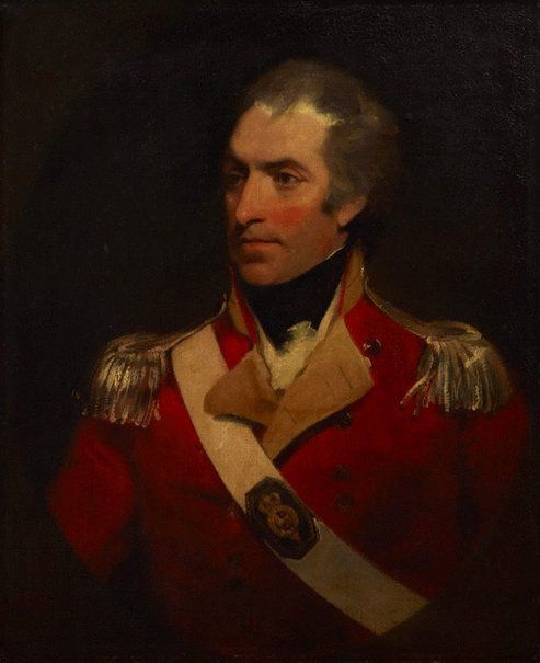 An image of Colonel William Paterson by William Owen