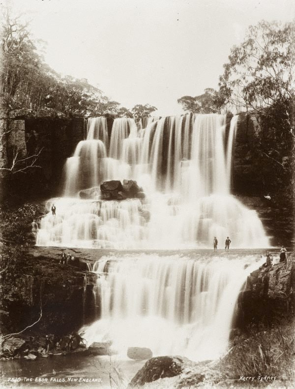 An image of The Ebor Falls, New England