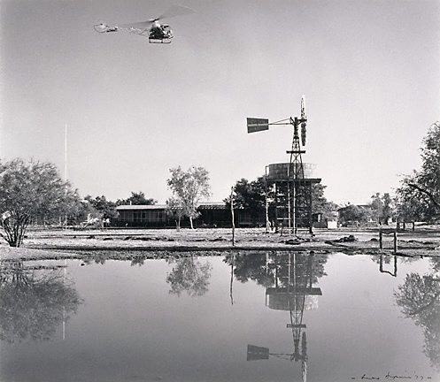 An image of Helicopter, 'Millungera', North Queensland by Max Dupain