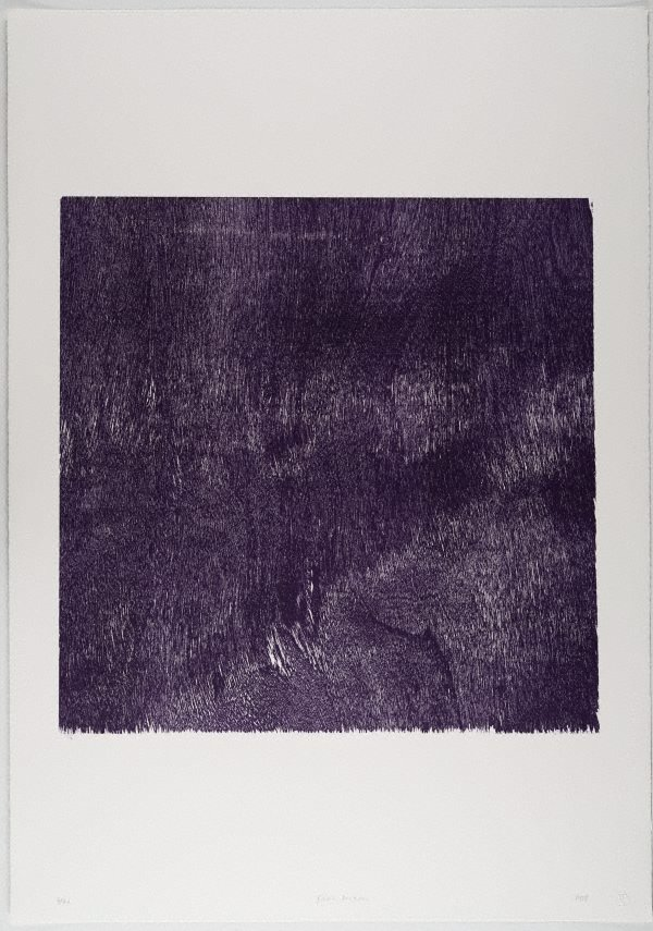 An image of Self portrait (Non-objective composition) (Purple)